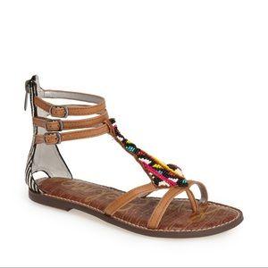SAM EDELMAN Giselle beaded sandal